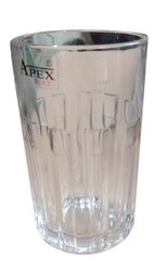 Transparent Crystal Drinking Water Glasses, Capacity: 450 ml