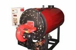 Coal Fired 100 Kg/hr Steam Boiler, IBR Approved