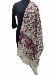 Kalamkari Silk Printed Dupatta