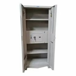 Creature Comforts Grey Full Locker Office Almirah, No. Of Shelves: 5 Shelves, Packaging Size: 1980 X 915 X 450 mm