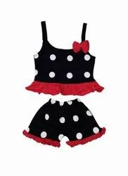 Sleeveless Top And Pant For Baby Girls