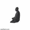 Mahatma Gandhi Meditating Sitting Pose Miniature Sculpture