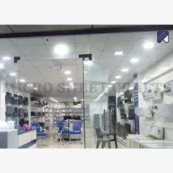 Mild Steel Free Standing Unit Showroom Ac Display Rack