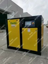 ROTARY SCREW TYPE TANK MOUNTED AIR COMPRESSOR