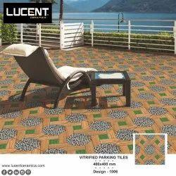 16x16 Vitrified Parking Tiles