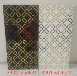 Gold tile design wall