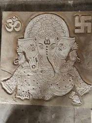 Ganesh Stone Mural