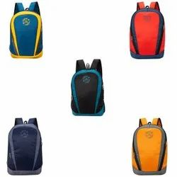 Polyester Fabric Plain Cosmus Asteroid Casual College Daypack