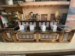 Stainless Steel Catering Counter , Fruit Counter , Salad Counter