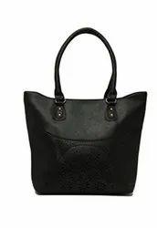 Shoulder Bag Black Leather Ladies Purse