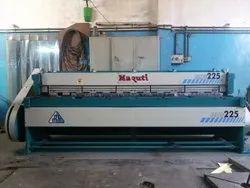 2540x2 mm Mechanical Shearing Machine Under Crank