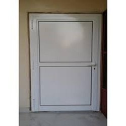 Standard White Aluminium Door, For Home, Single
