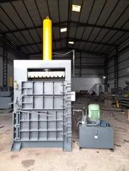 Single Chamber Single Cylinder Baler Machine