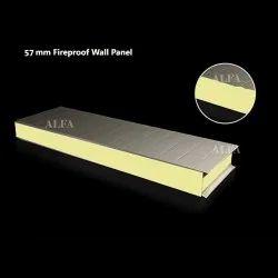 57mm Fireproof Rockwool Wall Panel