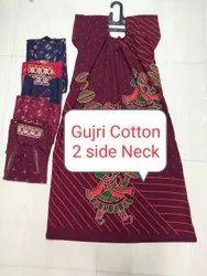Gujri Print Cotton Nighty