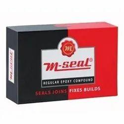 Rectangular M Seal Red 1kg, Packaging Type: Packet
