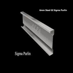 6mm Steel GI Sigma Purlin