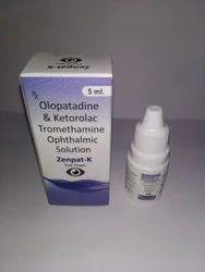 Olopatadine Ketorlac Thromeethamine Eye Drop
