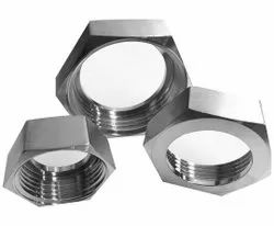 Hexagonal Stainless Steel Hex Lock Nut, Size: M12 To M40
