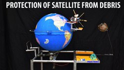 Protection of Satellite from debris