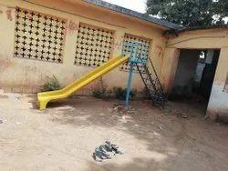 Single Playground Slide