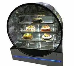 Glass Cake Display Counter