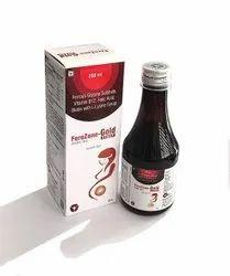 Ferrous Glycine Sulphate Vitamine B12 Folic Acid Biotin With L-Lysine Syrup