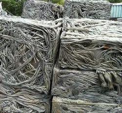 Silver Aluminium Wire Scrap, For Machinery, Size: Irregular