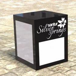 Santur Silver Spring Gate Light