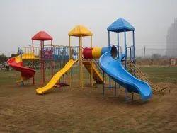 FRP Play ground Slide