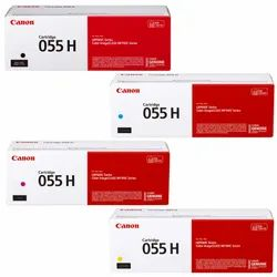 Canon 055H Toner Cartridge Set High Capacity