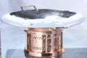 Copper Chafing Dish Set With 1/2 Cover