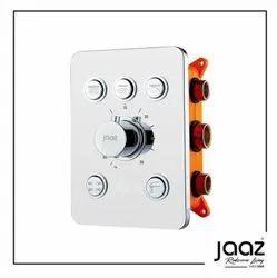 Thermostatic Mixer & Diverter ( Push Button Multifunction 5 Diverters)