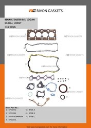 Head Gaskets India Renault Duster 85 / Logan Scala / Lodgy 1.5L Diesel Overhaul Gaskets Sets
