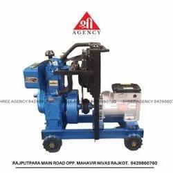 5 KVA Single Phase Water cooled Diesel Generator