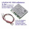BMS 4S 100A 14.8V/16.8 Li-ion Lithium Battery BMS PCM Protection Board with Balance