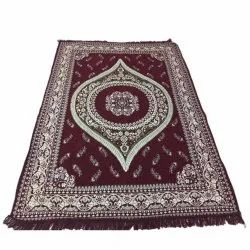 Rectangular Chenille Printed Carpet, For Home,Hotel, Size: 6 X 9ft