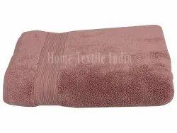 Brown 450GSM Plain Cotton Terry Bath Towel, For Bathroom, Size: 30 X 60inch