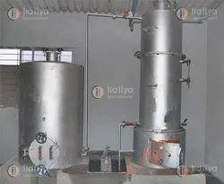 Wood & Coal Fired 200 KG/HR Steam Boiler, Non-IBR