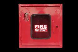 SAFE-ON Single Door Hose Box Cabinet