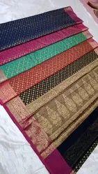 Fancy Woven Cotton Saree