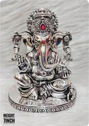 Silver Ganesh Statue