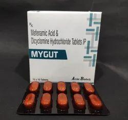 Mefenamic Acid 250 Mg + Dicyclomine HCL 10 Mg tablet