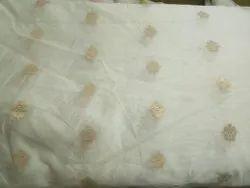 Dyeable Chanderi Silk Brocades