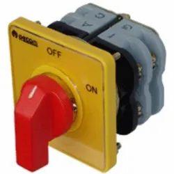 16A Off-On Selector Switch 2 Pole 250V AC