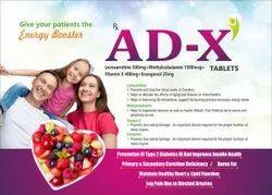 AD X (Levocarnitine,Vitamin E, Methylcobalamin & Enzogenol Tablet)
