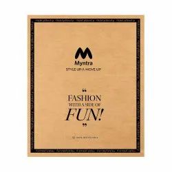 Myntra Paper Courier Bag