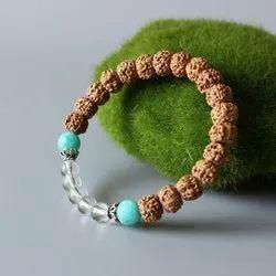 Rudraksha Sphatik Bracelet