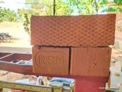 Orange Rectangular RSM Wire Cut Clay Brick, Size: 3 X 4 X 9 (d X H X W) Inch