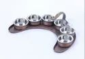 Smokey Maurya Copper Thali Set